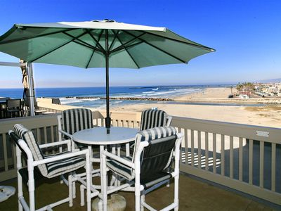 Photo for *NEW LISTING* Front Row Ocean View - 2 story w/ master suite E307