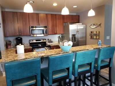 Photo for Beautiful condo in the heart of Grand Haven, MI. 1/2 mile to the waterfront