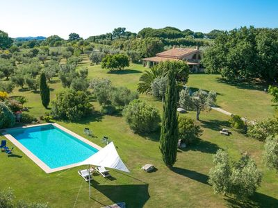 Photo for Villa with pool in the middle of Maremma
