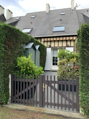 Photo for Small Cottage With Garden Terrace Close To The Beach in Villers -On