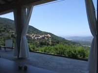 Loved everything about this villa and the view of the village, mountains and sea are spectacular!
