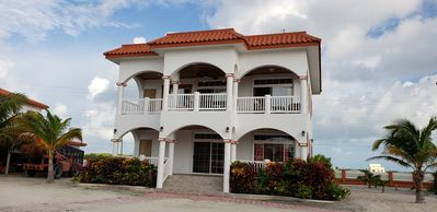 Photo for Luxury Las Brisas Home with 3 bedroom suites and rooftop pool. Gated community
