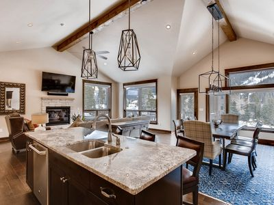 Photo for New 3Bdr Luxury Home-fireplace,on-site parking,Kids Ski Free