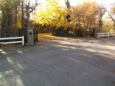 Photo for Secluded and Quiet on Wooded Lot w/ Stream Heart of Millcreek 30 min to Resorts