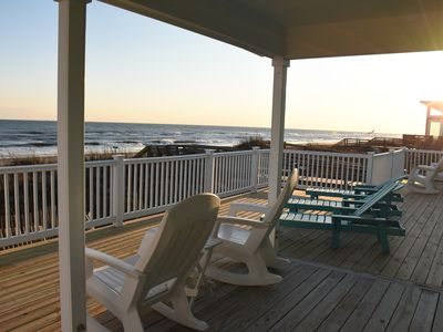 Photo for Oceanfront House with Private Beach Access, Newly Renovated