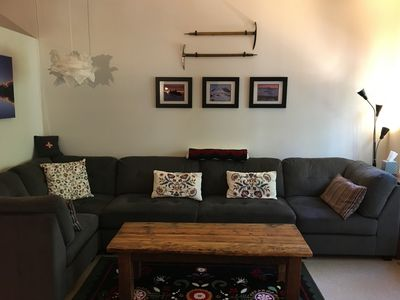 Photo for Cozy Creekside Condo in Government Camp Village.  No cleaning fees.