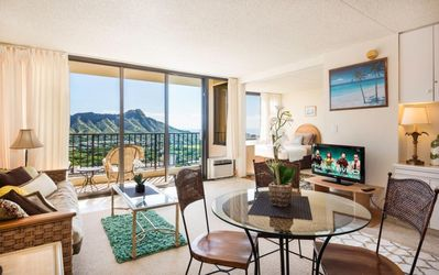 Photo for Ocean View Upgraded Waikiki Banyan 34th Floor