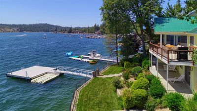 Photo for Freshly renovated/sleeps 16/private boat dock and more!