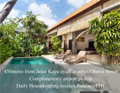 Photo for 2BR Villa Vacation Rental in Kerobokan Kelod, Bali