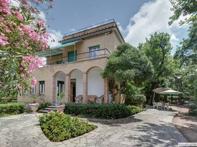 Photo for SPECIAL OFFERS: GREAT VILLA  0,3 km to the BEACH  of ANZIO/ROME,  12 sleeps