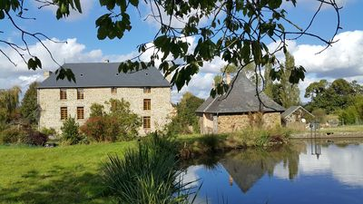 Photo for Gite Le Bas Manoir located in Sainte Marie du Bois, Normandy