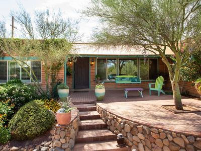Photo for Desert Retreat w/ Private Pool, Spa, BBQ! Summer + Last minute discounts!