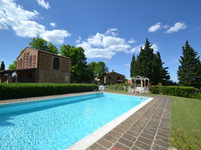 Photo for Spacious Apartment in Montaione Italy with Swimming Pool