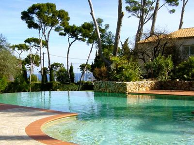 Photo for Cap d´Antibes 3 BR 2BA apt. Top location.