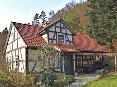 Photo for Detached holiday home in Rotenburg an der Fulda with fireplace and a large terrace
