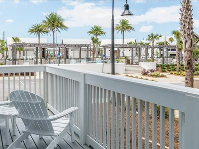 Photo for Fall Specials!* CLOSEST Direct View to POOL! 3 Bikes! Corner! ~ Seas the Day at Prominence North 30A