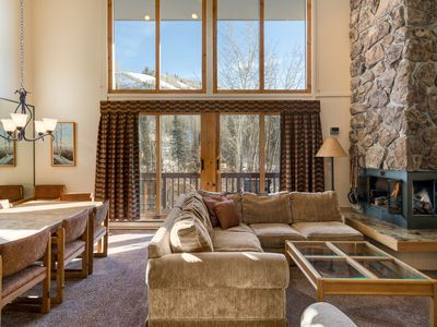 Photo for THE BEST Location on the Mountain! Complex Heated Pool & Hot Tub