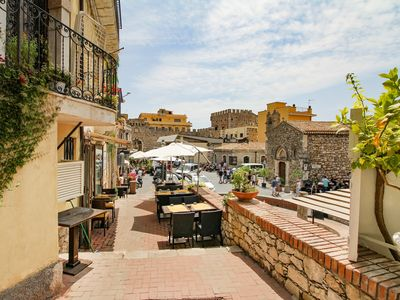 Photo for NEW! Amazing Taormina! Agatocle Apartment for 3!