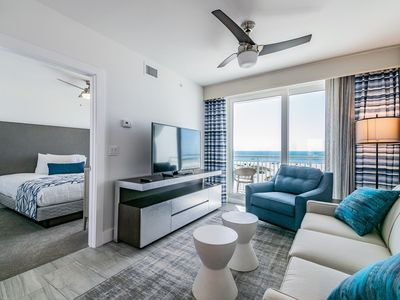 Photo for 2 Bedroom/2 Bathroom Gulf Front Standard Suite at Oceana