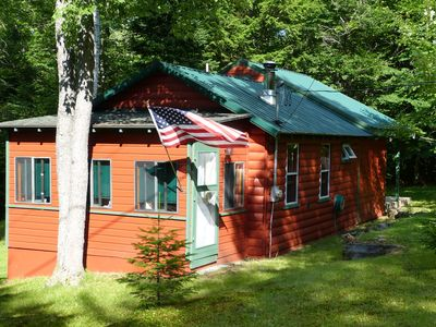 Front view of our cabin.
