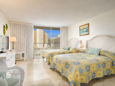 Photo for Cozy Studio in Heart of Waikiki! Weekly 5%, Monthly  20% Discount!!!