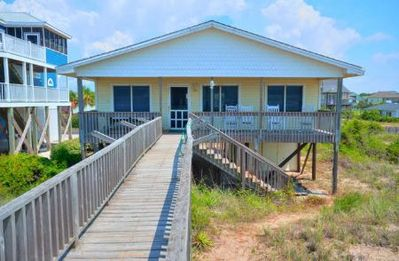 Photo for Nice Oceanfront 4 BR/2 BA Home with Gorgeous Ocean Views of Beach-Sleeps 10