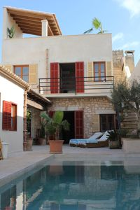 Photo for NEW: This beautifully renovated village house with private pool in the heart of Santanyí