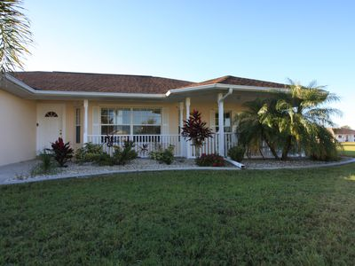 Photo for Spacious 4 Bdrm -3 Bath home with heated pool & spa in Deep Creek, Punta Gorda
