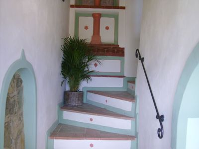The stairs leading to enchantment.