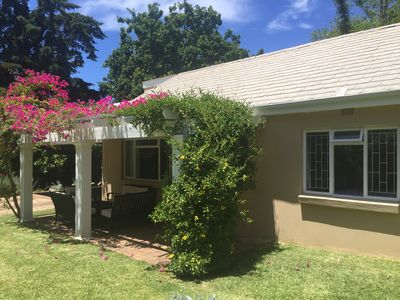 Photo for Spacious yet cosy cottage in the heart of the Constantia wine route