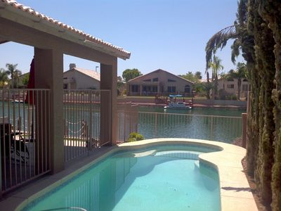 Photo for Beautiful Glendale Home, 3BR/2BA - Lakefront w/ Private Pool