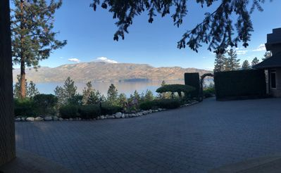 "Photo for ""Uncork & Unwind""... Couples Private Retreat Overlooking Okanagan Lake & Valley"