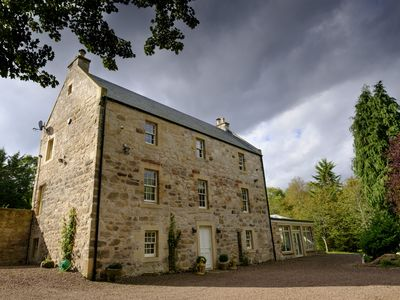 Photo for Edinburgh Luxury Country House Sleeping 10 in Exceptional Bedrooms