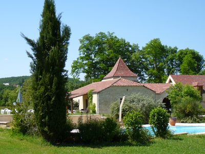 Photo for 3 luxury holiday homes with pool in Dordogne / Lot on a small estate