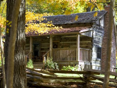 Photo for 1860 Era Original Log Cabin In Beautiful East Tennessee -  Foust Cabin