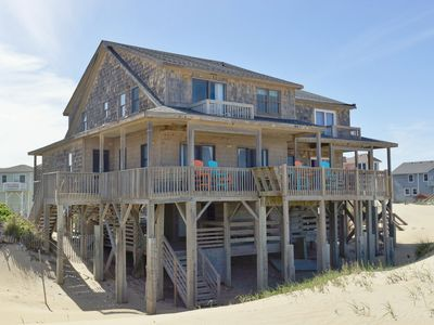 Photo for THE BLUFFS SOUTH: 4 BR / 3 BA townhome/duplex in Nags Head