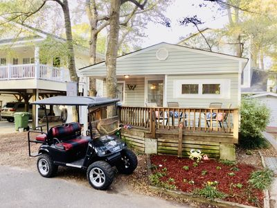 Photo for OCEAN LAKESFAMILY CAMPGROUND W/CUSTOM GOLF CART, EXTTENDED WIFI & CABLE