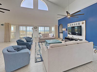 Photo for Beachfront Home in Gulf Shores. Multiple Private Balconies and Large Beachfront