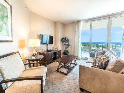 Photo for ☀Palms Resort 11002 Full 2BR/2BA☀ GulfViews-Lagoon Pool! OPEN Apr 21 to 23 $634!