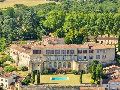 Photo for 12 bedroom Chateau, sleeps 24 with Pool and FREE WiFi