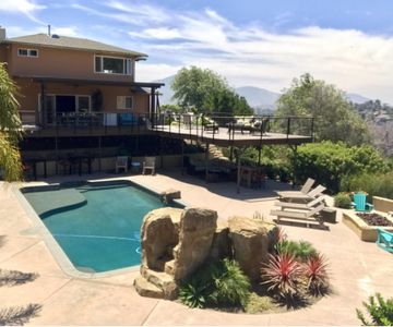 Photo for Spectacular  1.1 acre playgrounds with heated pool, fire-pit, and 4+bedrooms