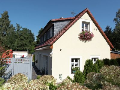 Photo for Historical and comfortable holiday home in Saxony with stove and terrace
