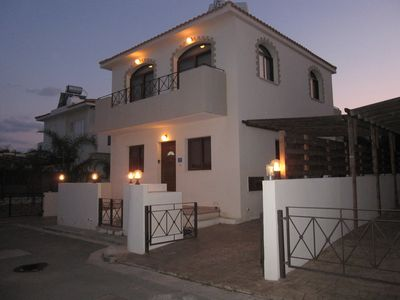 Photo for Our villa is VERY popular with wedding guests attending at Grecian Park Hotel.