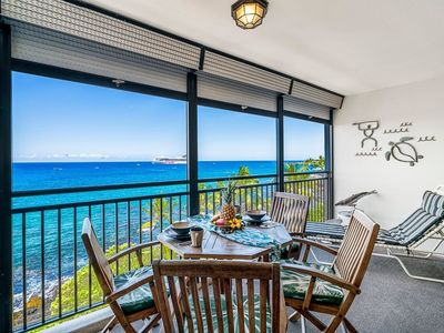 Photo for NEW!! Condo With Beautiful Ocean Views Kona Alii