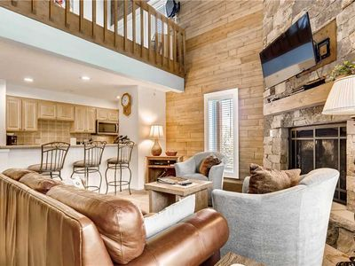 Photo for Vail 2 Bedroom + Loft and Deck, Ski-in/Ski-out, Pool, Hot Tub