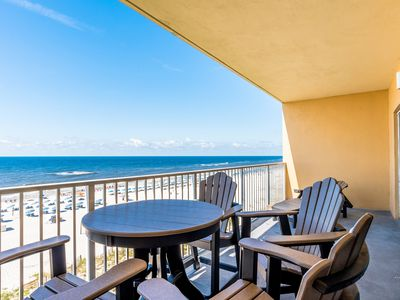 Photo for Seawind 506 Beach Front Condo - Amazing Views from 5th floor