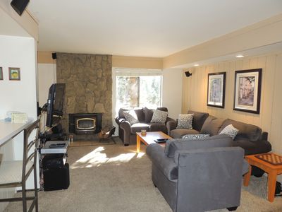Photo for Enjoy Mammoth in this beautiful appointed condo #159, just steps to the shuttle