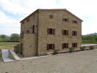 Photo for Restored 13c Appartment in the Upper Tiber Valley, on the Umbrian/Tuscany border