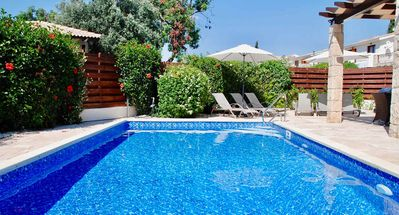 Photo for 3 bedroom Villa Athina (HG12) with private pool and private outside space. 5 minute stroll to resort centre on Aphrodite Hills Resort