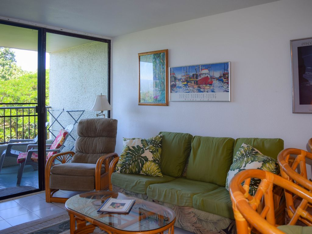 two bedroom condo. The condo offers two bedrooms  full bathroom kitchen and living room 2 Bedroom Condo in Hilo by Beach Park GREAT VRBO